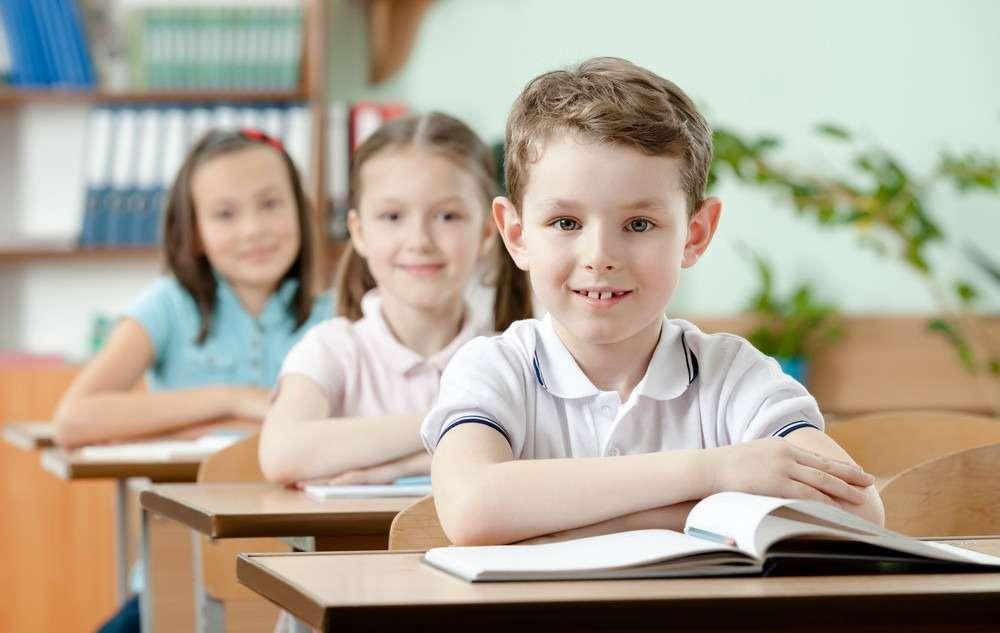 дети в школу фото
