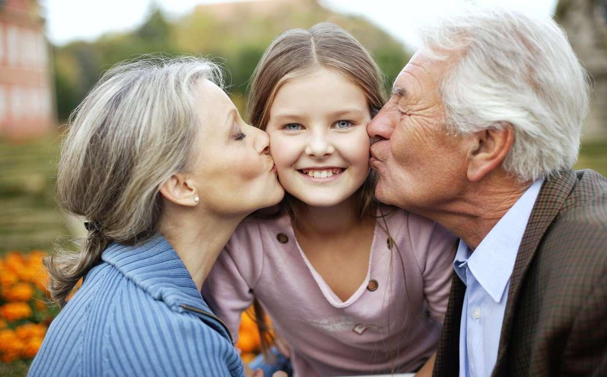 дедушка и бабушка картинка