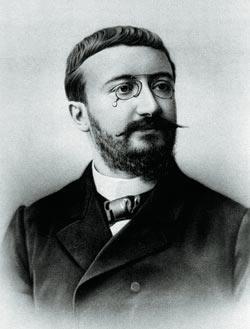 Альфред Бине (1857—1911), создатель теста IQ. Фото: SPL/EAST NEWS