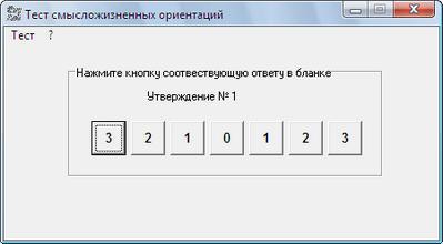 Тест смысложизненных ориентаций. Д.А. Леонтьев