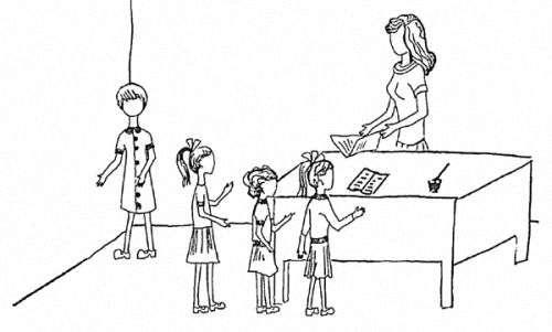 Проективная методика для диагностики школьной тревожности