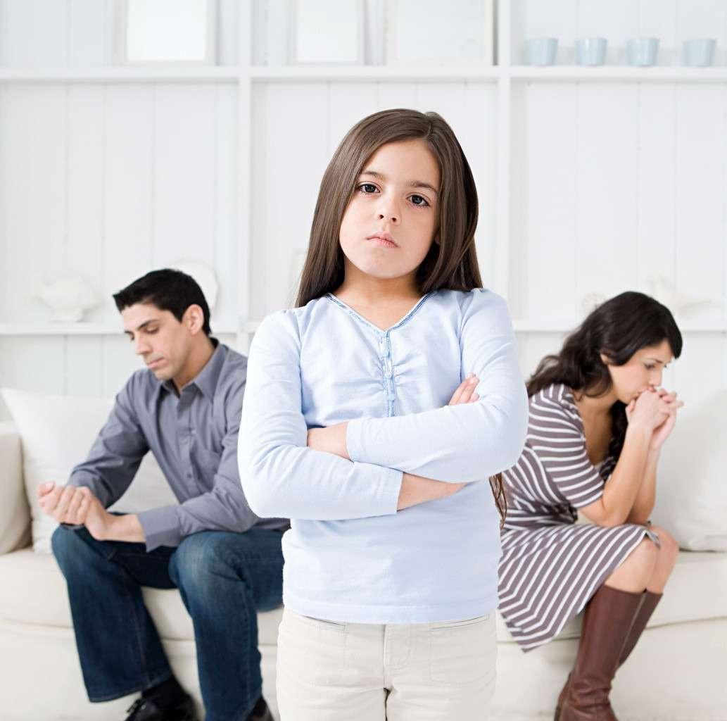 влияние развода на ребенка