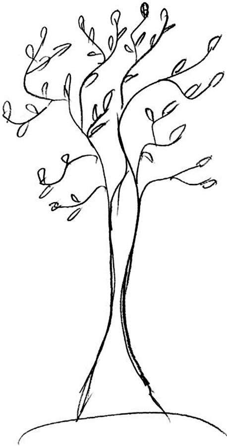 рисунок к тесту Мое дерево