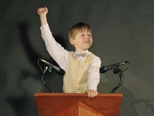 Ребенок оратор