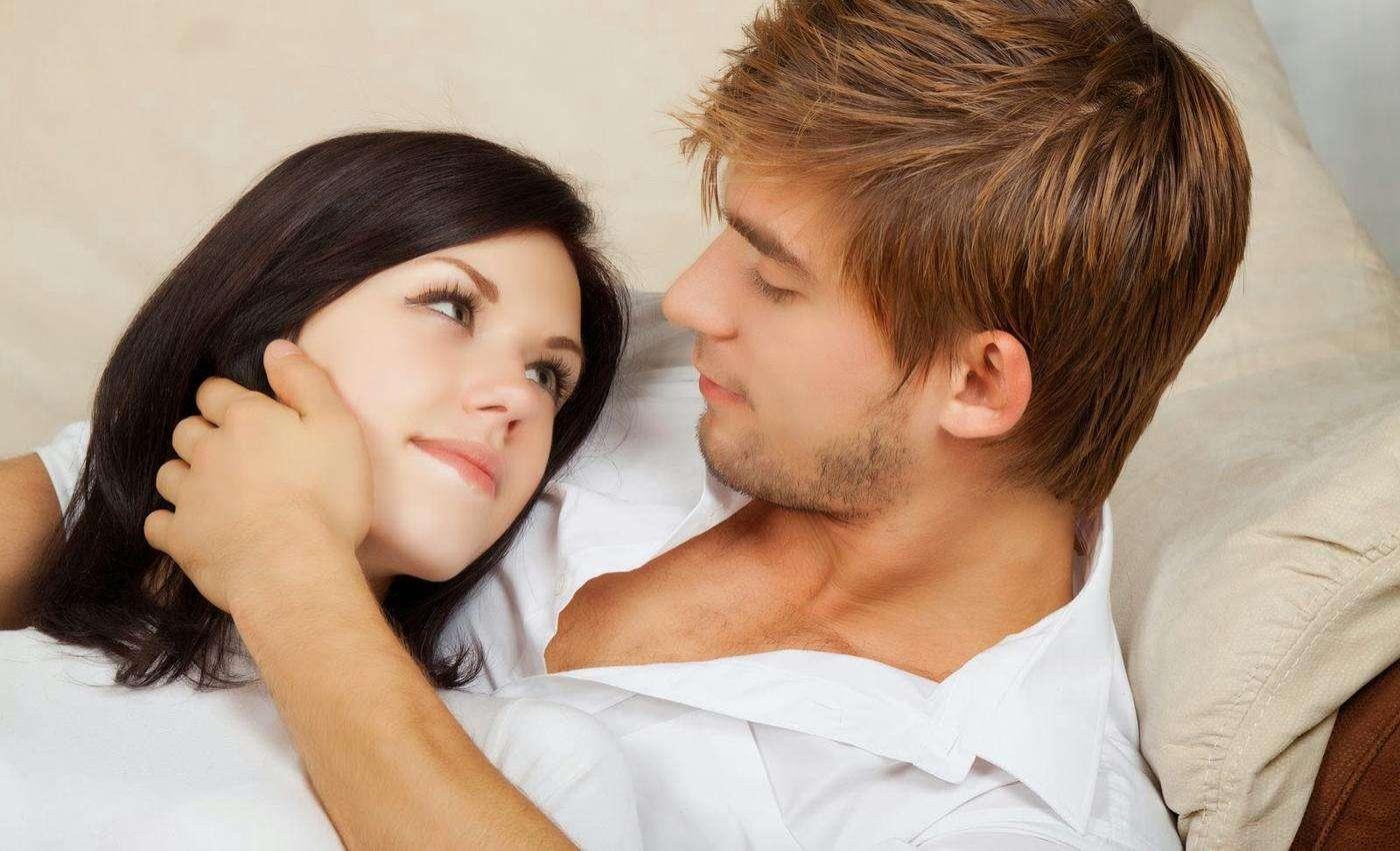 Влюбленные муж и жена