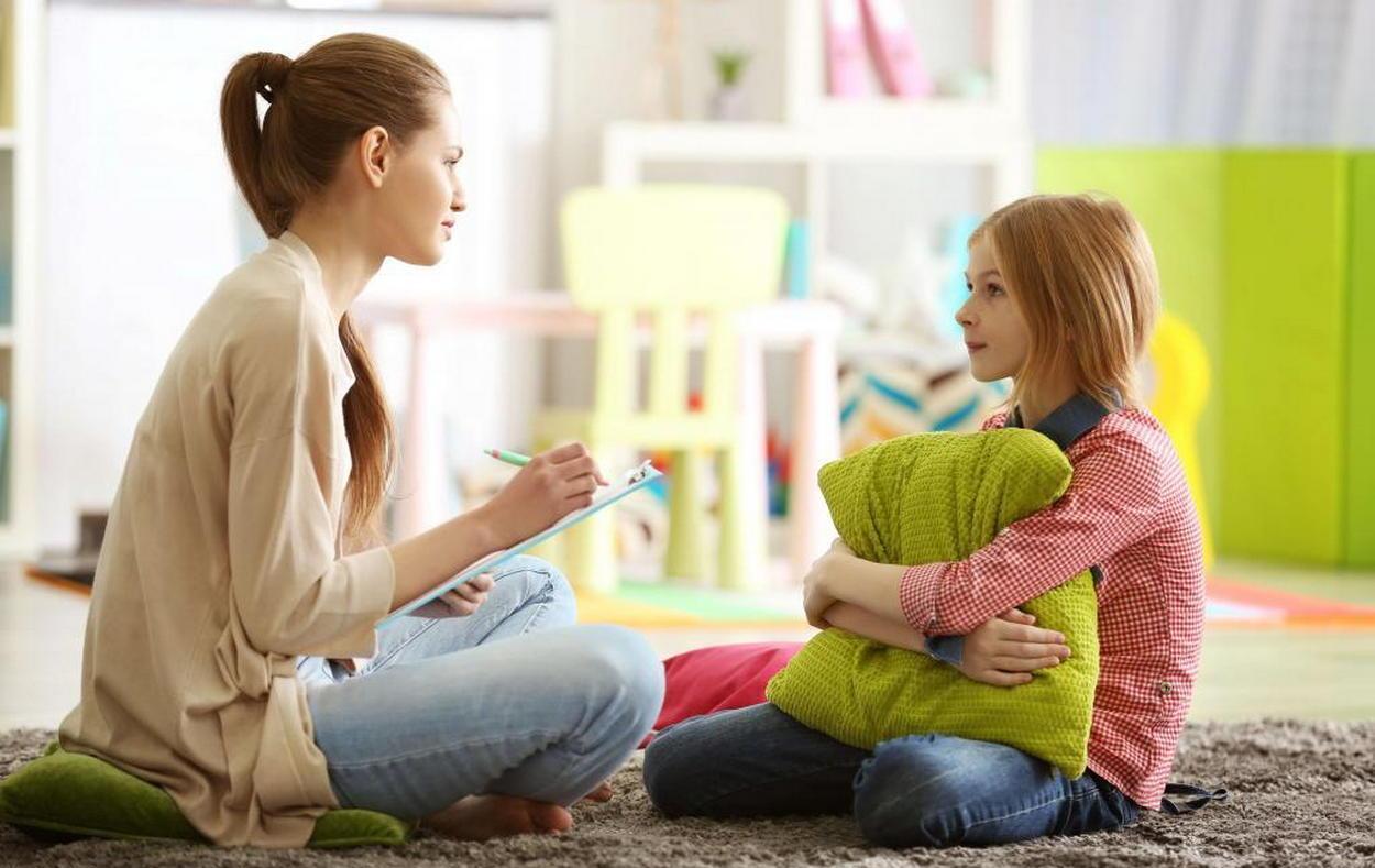 Прием у детского психолога